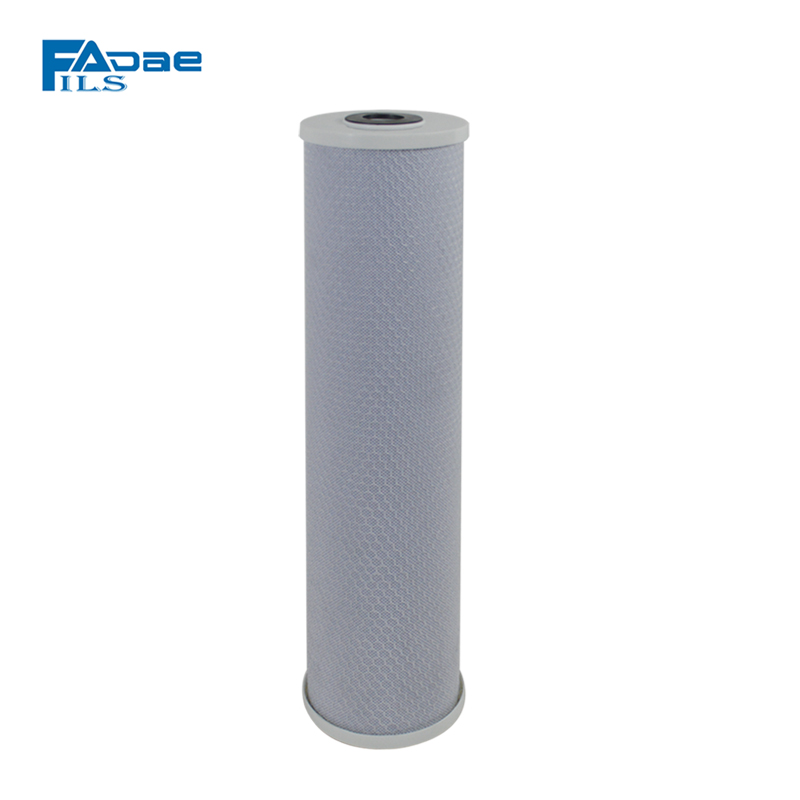 Big Blue Whole House Carbon Block Filter 4.5 OD X 20 Length, 5 Micron kx matrikx 1 01 425 125 20 carbon block filter 20 x 4 25