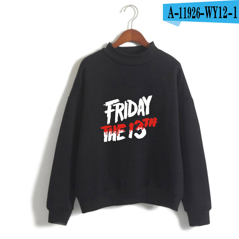 Friday The 13Th Hoodie The Game Horror Mask Killer Puzzle Long Sleeve Sweatshirts Women Game Hoodie Causal Printed Clothing