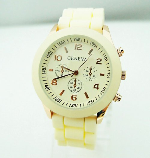 Hot Sales Genève Brand Silikone Kvinder Watch Ladies Fashion Dress - Dameure - Foto 6