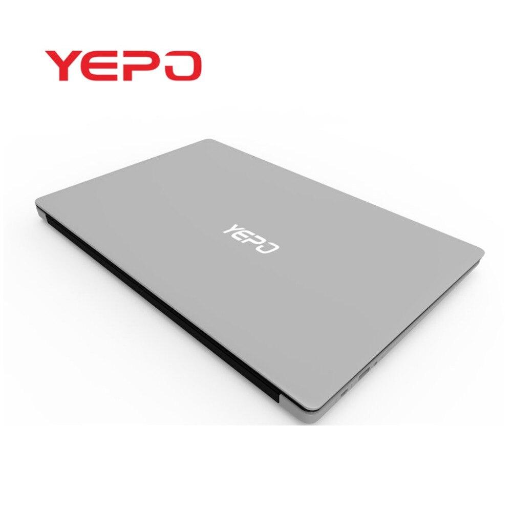 YEPO 737A6 15.6-Pouces 1080 P HD Portable 6 + 64G Gaming Ordinateur Portable de Travail Pour Windows10 0.3MP Caméra ordinateur portable