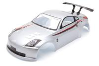 1 10 RC Car Accessories 1 10 RC Car PVC Body Shell Nissan Silver 190mm S005S