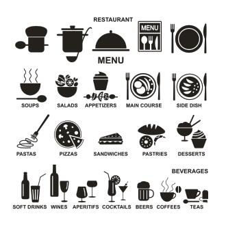 cafe vinyl wall decal restaurant coffee shop logo mural