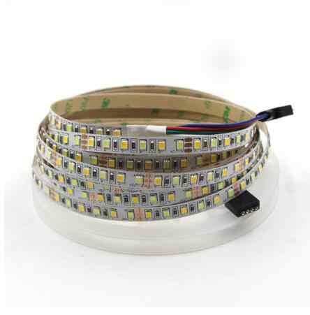 LED גמיש רצועת 180 נוריות/m קלטת אור CW/WW כפולה לבן צבע טמפרטורת מתכוונן CCT CRI> 95 5m 12V 24V כפול צבע מחרוזת