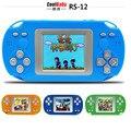 Niños de la manera de mano consola de juegos juguete educativo jugador construido en 203 juegos clásicos color tetris juegos envío gratis
