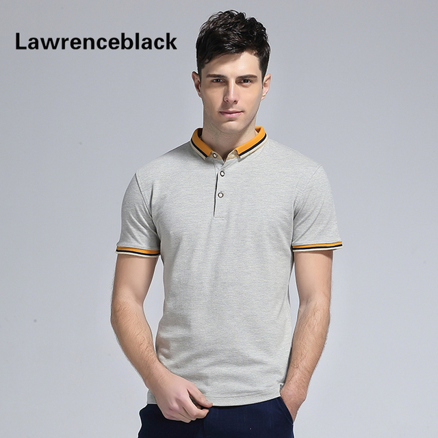 Tee Shirt Polo Homme New Summer Short Polo Shirts Camisa Polos Masculina Casual Camiseta Brand Trend 2017 Cotton Polos Shirt 141