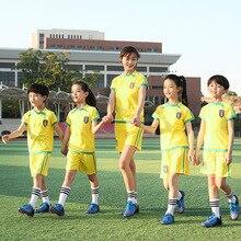 여름 축구 팀 소매
