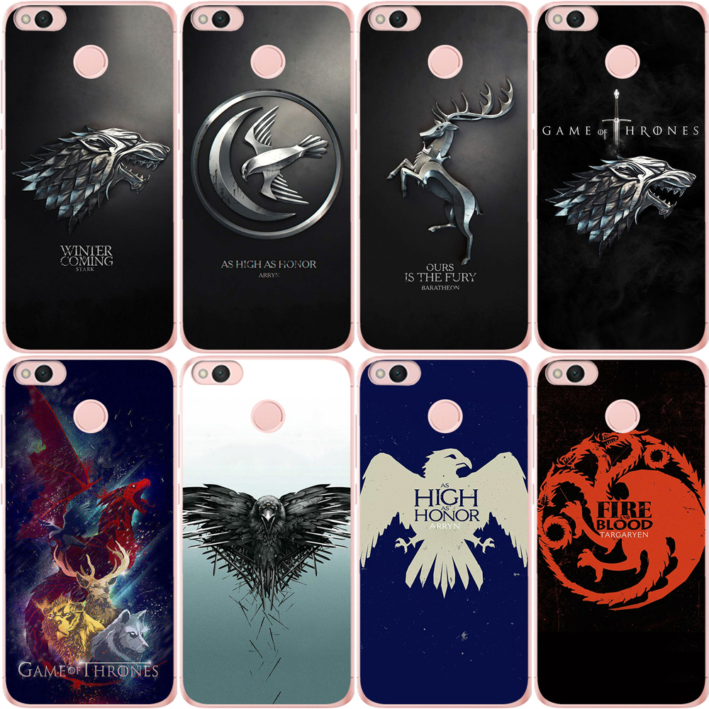 Game Thrones Jon Snow Tyrion Lannister Soft silicone Phone Case For Xiaomi Redmi mi 8 Mi 9 Note 5A 6 4 A2 Lite A1 4X 4A 5X Cover in Fitted Cases from Cellphones Telecommunications