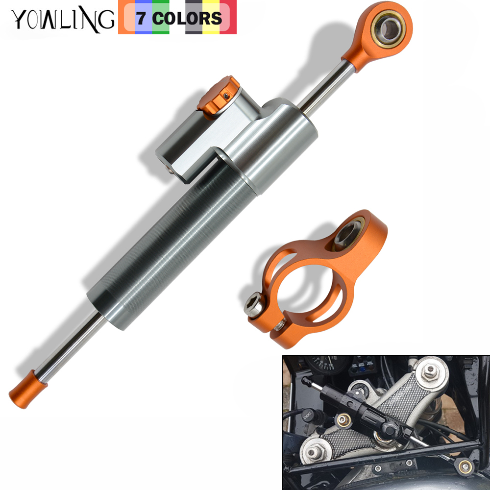 Universal Adjustable Motorcycle Steering Damper Stabilizer Adjustable For KTM 990 SM T KTM DUKE 200 690 1190 1290 RC390 RC 390 universal motorcycle accessories gear shifter shoe case cover protector for ktm duke 125 200 390 690 990 350 1290 adventure exc