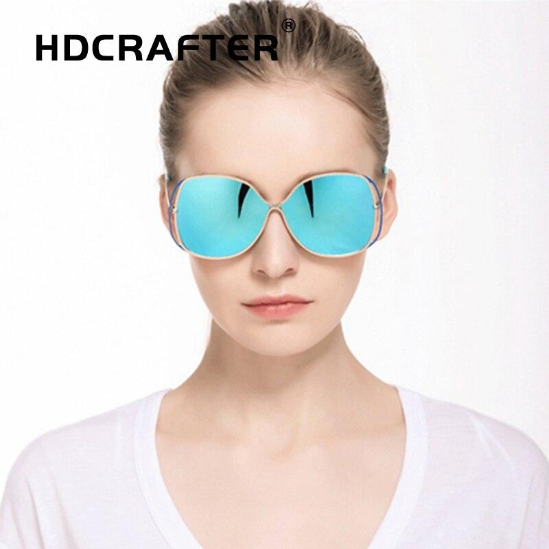 brand designer ladies sunglasses women polarized butterfly mirrored sun glasses oversized eyewear for female lentes de sol mujer