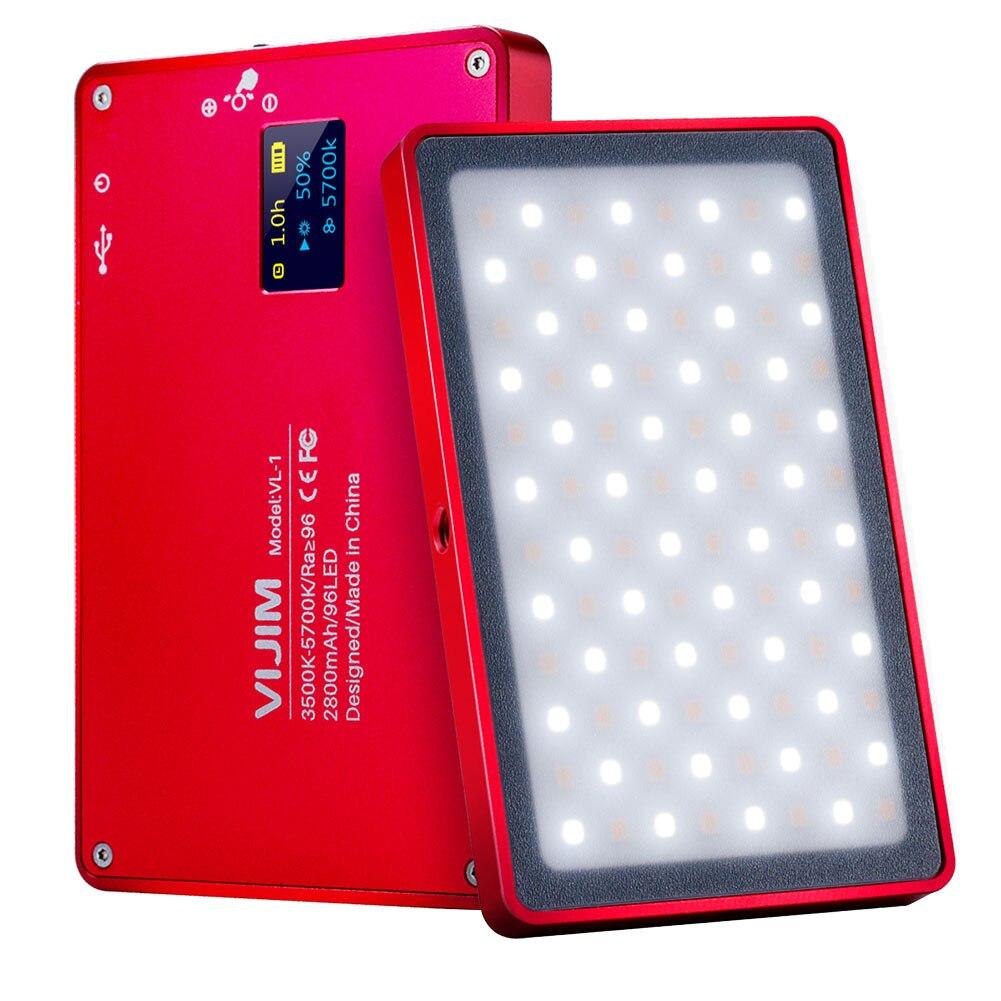 Mini téléphone lumière LED O LED écran 96 perles magnétique en alliage d'aluminium lampe Portable pour Selfie SGA998