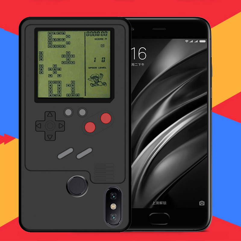 US $10 83 9% OFF|Ninetendo Tetris Gameboy Phone Case For Xiaomi Mi 6X 8 Mi  A2 Game case cover For iPhone XR XS Max X 7 8 for Huawei P20 P10 Plus-in