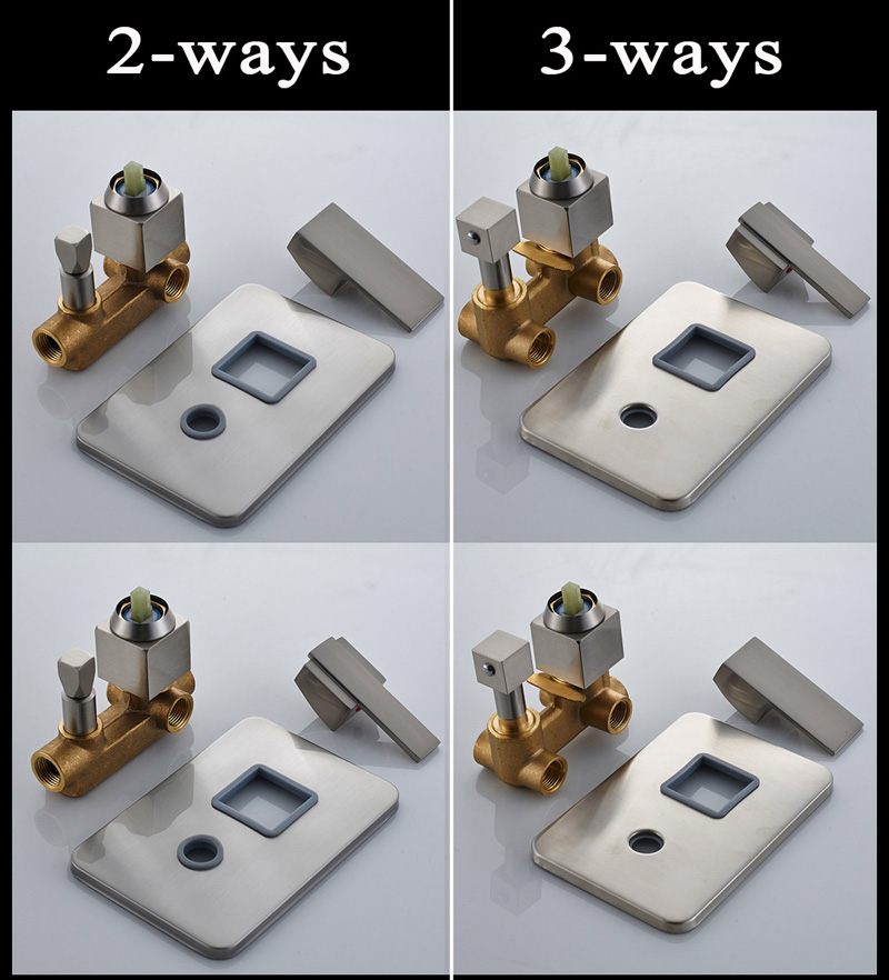 Solid Brass Shower Mixer Control Valve And Switch Valve
