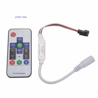 Led RGB Controller 300 arten von änderungen Wireless RF Digitalen Farbe Led-streifen Licht für WS2811 WS2812 WS2812B DC5V-24V