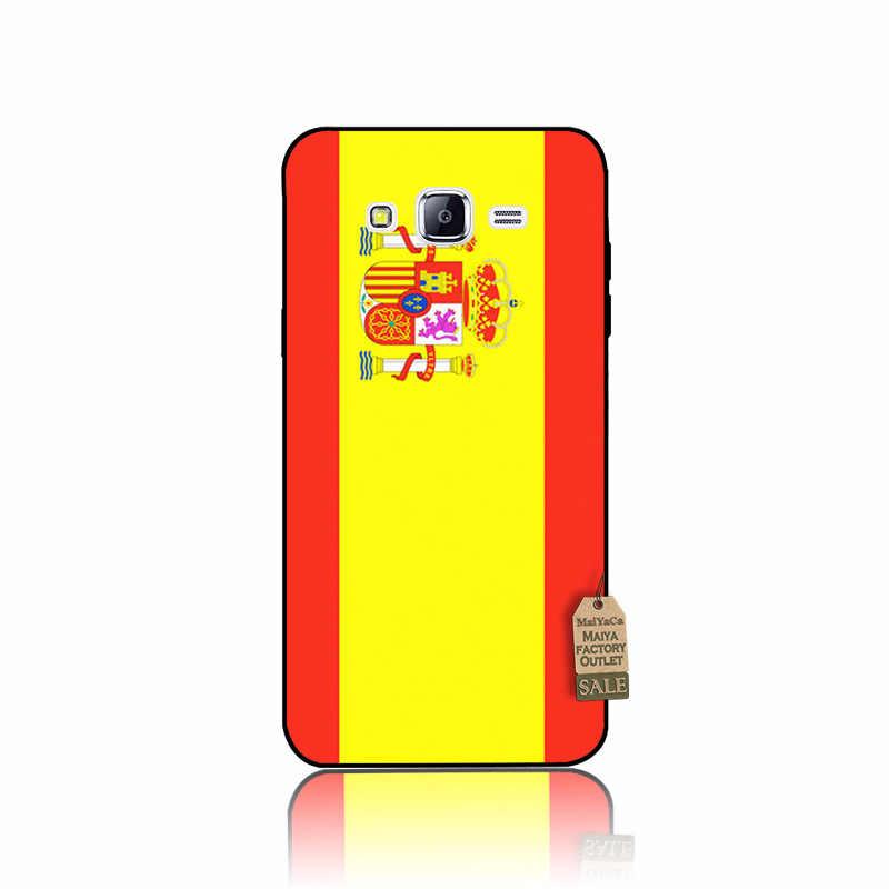 MaiYaCa Tây Ban Nha Estonia Đan Mạch cờ bìa Điện Thoại Di Động Trường Hợp đối với samsung galaxy j7 2017 j6 2018 j4 j8 s10lite note9 trường hợp coque