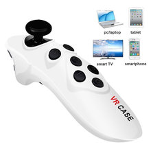 Mini Celular Bluetooth Joystick Controlador Gamepad Android VR óculos Controle Remoto Sem Fio Bluetooth para iPhone Tablet Rato(China)