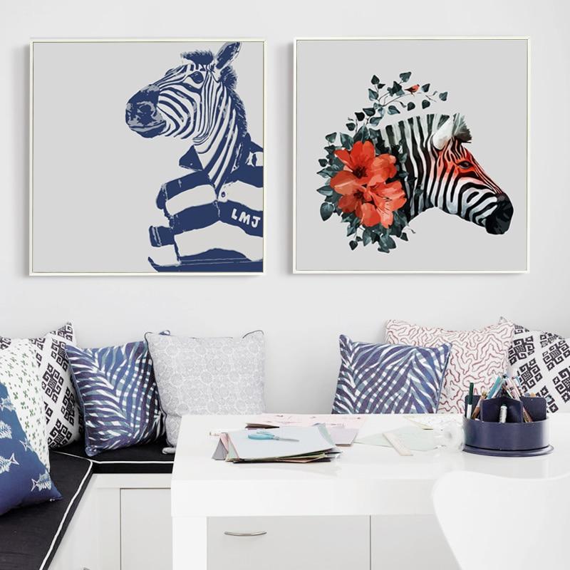 Zebra Leinwand Kunst-Kaufen billigZebra Leinwand Kunst Partien aus ...
