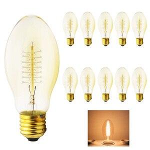 10x Retro Lampada Edison Lamp