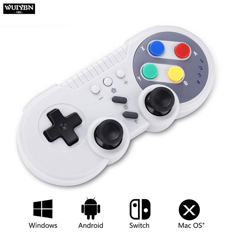 NS WUIYBN NOVO Bluetooth sem fio Interruptor do controlador Para Nintendo Game Machine PS3, Android, PC Alça DS BOY PRO