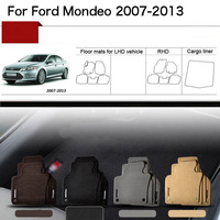 5pcs 1 2 Thick Solid Nylon Interior Floor Carpet Mats For Ford Mondeo 2007 2013