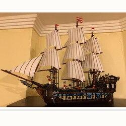 2019 Imperial Modello di punta Pirati nave Blocchi di Costruzione di giocattoli per bambini Mattoni toy boy regali Compatibile con LegoINGLY