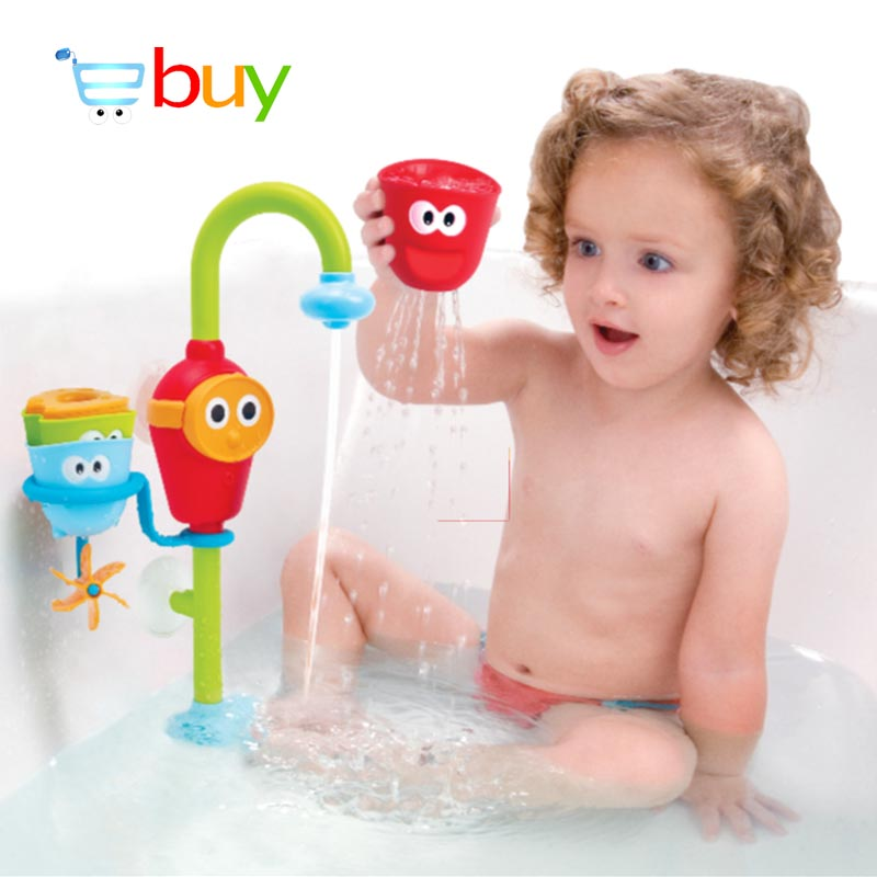 Baby Bath Toys for Children in the Bathroom Water Spraying Taps Fountain Bathtub Game for Kids. Popular Bathtub Toys Kids Buy Cheap Bathtub Toys Kids lots from