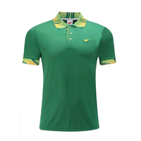 High Quality Quick Dry Golf Men Sportwear Polo Shirt Golf Clothing Sports Leisure TShirt Turn Down