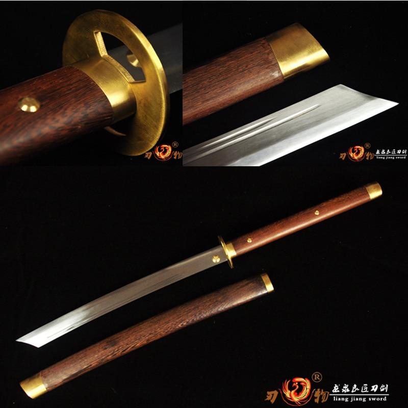 High Quality Cut Horse Dao Broadsword Sword Saber Very Sharp Spring Steel Blade