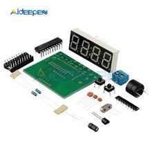 DC 3V-6V AT89C2051 LED Digital 4 Bits Electronic Clock Electronic
