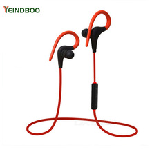 YEINDBOO Wireless Bluetooth Earphone Sport Headphone Headset Fone de ouvido For Phone Neckband Ecouteur Auriculares Bluetooth magnetic switch wireless bluetooth stereo earphone neckband ecouteur auriculares for sony xperia xa xa1 ultra dual