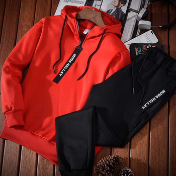Fitness Running suits Set Warm Jogging Tracksuit