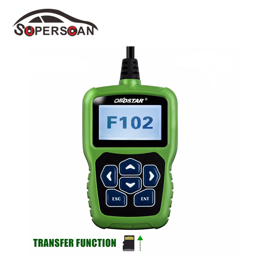 OBDSTAR F102 Auto Pin Code Reader key progarmming and mileage adjustment for Nissan/Infiniti Odometer Correction tool