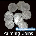 10pcs/lot Palming Coins (Morgan Dollar Size)  - Trick,Magic Tricks,Props,Accessories,Gimmick,Funny,Illusion