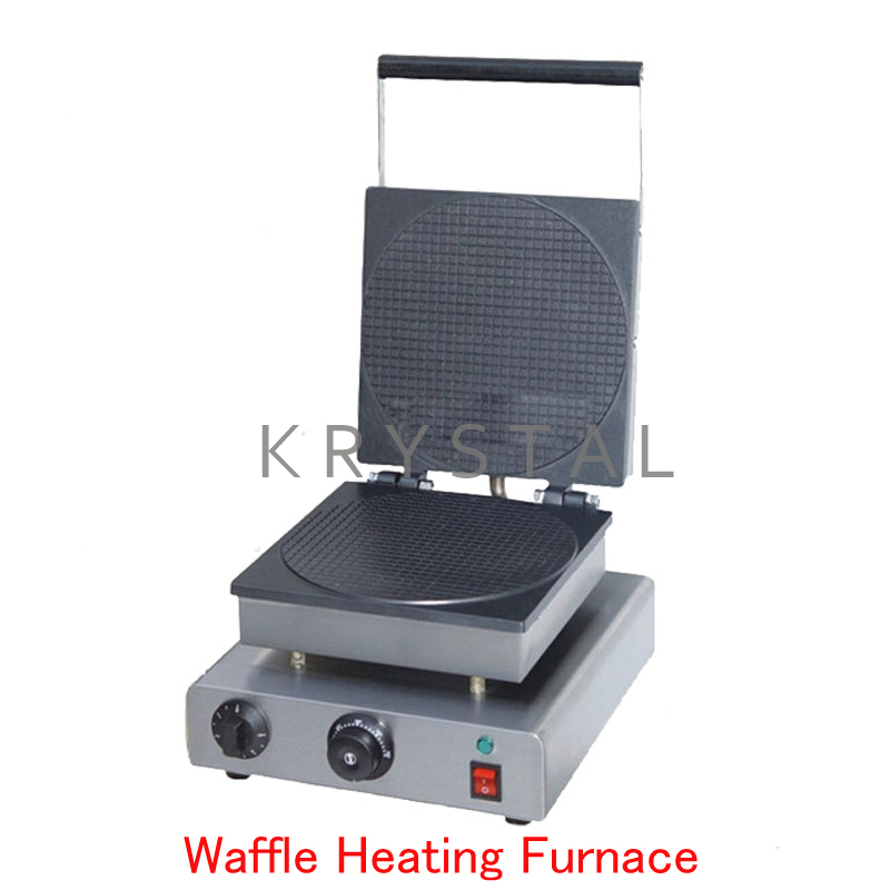 Electric Waffle Maker Commercial Waffle Heating Furnace Ice Cream Cone Machine Cone Egg Roll Maker FY-2209 double commercial electric rectangle cone maker and butterfly waffle maker for sale