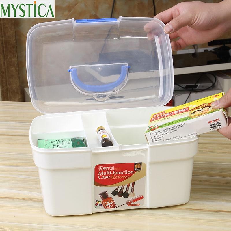 1PCS Multi layered Large Family First Aid Kit Box Medicine