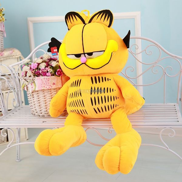 Fancytrader 49\'\' 125cm Super Funny Big Stuffed Soft Plush Lovely Giant Garfield Cat, Free Shipping FT50713 (11)