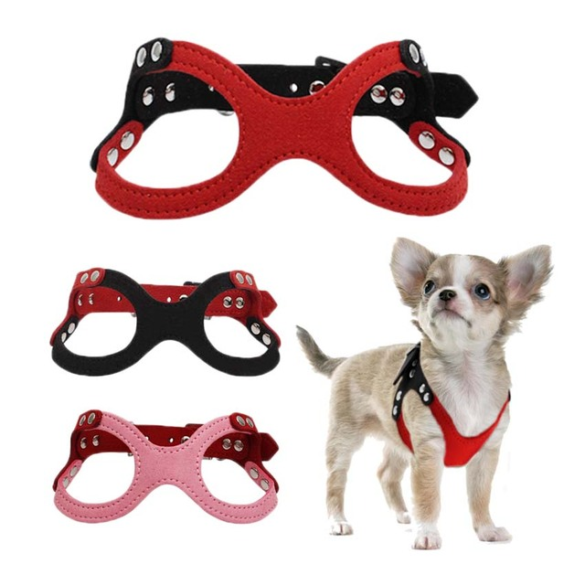 Petshop chihuahua pup harness small dogs lead leash pet puppy collar