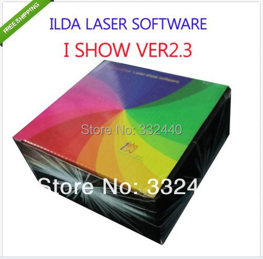 все цены на [Tiangreen]HOT Stage Laser Controller I SHOW 2.3 ILDA SOFTWARE for LASER LIGHTING+USB Interface онлайн
