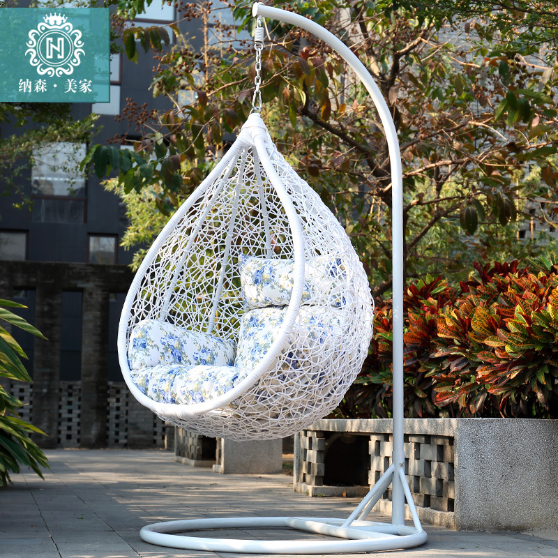 Genial 0 Down Payment Installments Outdoor Rocking Chair Swing Hanging Basket Chair  Inside The Bedroom Balcony Nest Cradle Chair Wicker In Patio Swings From ...