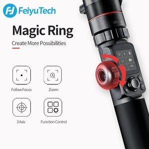Image 5 - Gimbal FeiyuTech AK4000 3 Axis el Gimbal kamera sabitleyici dslr Sony Canon 5D Panasonic D850 pk dji ronin s