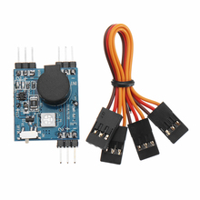 Wireless Alarm Tracking Buzzer 5-8V with LED Light for RC Helicopter FPV Racing Drone Quadcopter skyzone sky03 fpv goggles 5 8g 48ch 3d diversity receiver with head tracking front camera dvr for rc racing drone