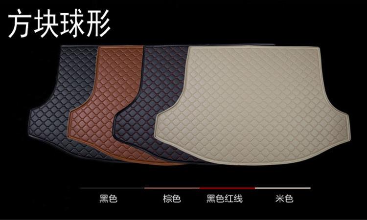 car trunk mats auto cargo liners leather for Ferrari GMC Savana JAGUAR Smart Lamborghini Murcielago Gallardo Rolls Royce Phantom