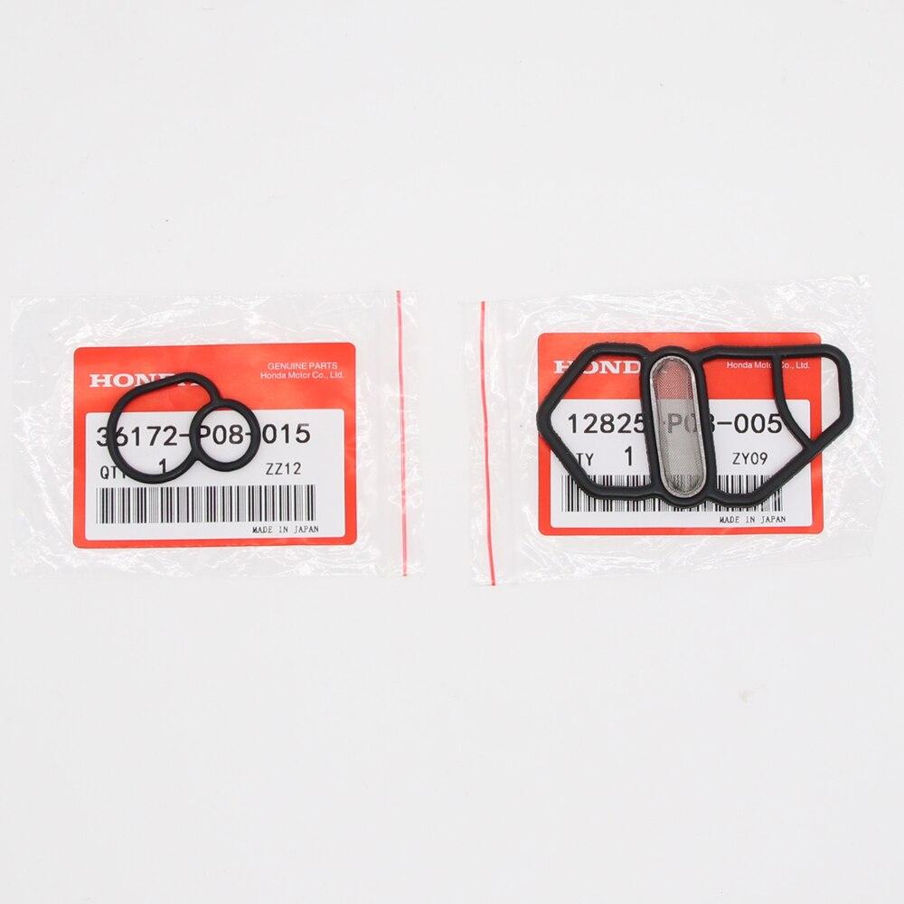 36172-P08-015/15825-P08-005 Oem Bovenste + Onderste VTEC Solenoid Pakking Kit voor Honda GSR NSX D16Z6 B18C1 B16A2 B18C5