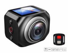 360 панорамный действие Камера широкий угол Wi-Fi Водонепроницаемый Камера 1920×1440/30fps Full HD Cam 1.5 Экран 2.4 г удаленного R360 камеры