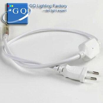 2835led power plug LED strip 110V120V 220V 230V 240v Waterproof string ribbon bundle Christmas Xmas ribbon tape lighting lamp