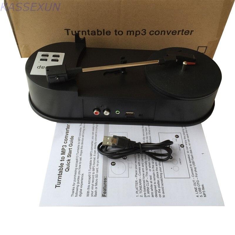 33 Freies Verschiffen Exzellente QualitäT Plattenspieler Vinyl Zu Mp3 Konverter Erfassen Konvertieren Plattenspieler Zu Usb Flash Disk/sd Karte In Mp3 Format Direkt