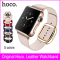 Top Quality Leather Watchband Non Silicone Band Metal Watch Buckle Correas Para Reloj For Watch Women Nato Strap For Apple Watch