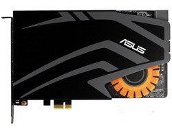 Б/у, звуковая карта ASUS strix RAID PRO 7,1-channe Gaming (не полная новинка), 100% Протестировано хорошо