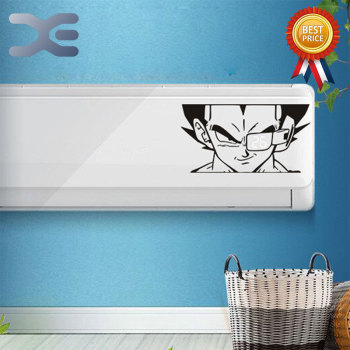 PVC Creative Air Conditioning Stickers Waterproof Wall Hanging Hollow Decoration - discount item  30% OFF Home Appliance Parts