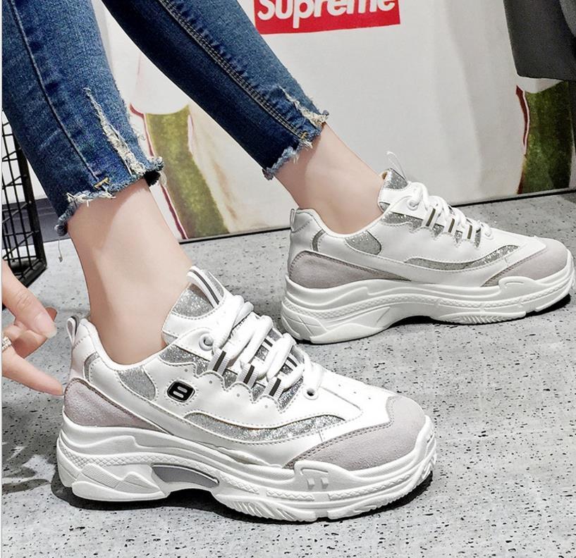 2018 De Été Chaussures Femmes Blanc Noir blanc Casual Nouveau AAWcr