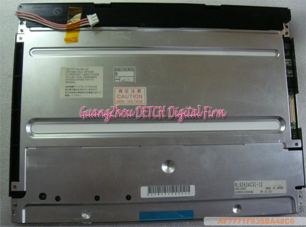 Industrial display LCD screen 12.1-inch  NL8060AC31-12 LCD screen lc171w03 b4k1 lcd display screens